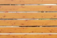 Реечные панели Структурный золотой дуб